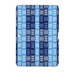 Textile Structure Texture Grid Samsung Galaxy Tab 2 (10 1 ) P5100 Hardshell Case