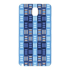 Textile Structure Texture Grid Samsung Galaxy Note 3 N9005 Hardshell Back Case