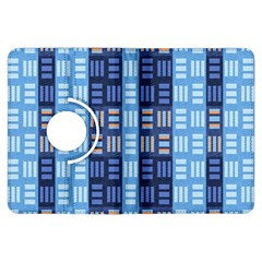 Textile Structure Texture Grid Kindle Fire HDX Flip 360 Case