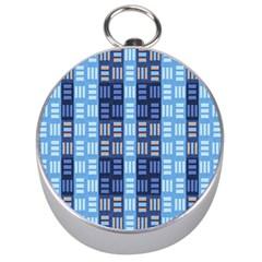 Textile Structure Texture Grid Silver Compasses