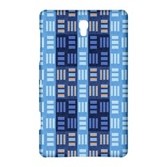 Textile Structure Texture Grid Samsung Galaxy Tab S (8.4 ) Hardshell Case