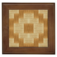 Texture Surface Beige Brown Tan Framed Tiles