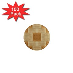 Texture Surface Beige Brown Tan 1  Mini Magnets (100 Pack)