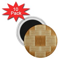Texture Surface Beige Brown Tan 1.75  Magnets (10 pack)