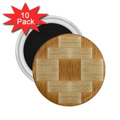 Texture Surface Beige Brown Tan 2.25  Magnets (10 pack)