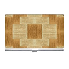 Texture Surface Beige Brown Tan Business Card Holders