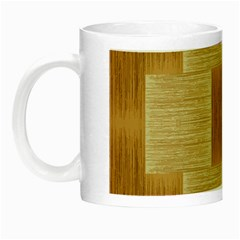 Texture Surface Beige Brown Tan Night Luminous Mugs