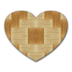 Texture Surface Beige Brown Tan Heart Mousepads