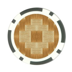 Texture Surface Beige Brown Tan Poker Chip Card Guard (10 pack)