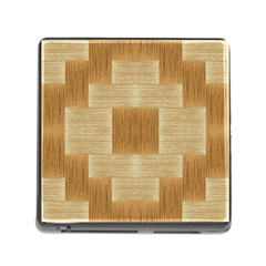 Texture Surface Beige Brown Tan Memory Card Reader (Square)