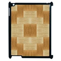 Texture Surface Beige Brown Tan Apple iPad 2 Case (Black)