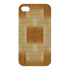 Texture Surface Beige Brown Tan Apple Iphone 4/4s Premium Hardshell Case