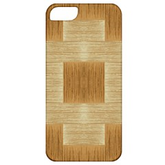 Texture Surface Beige Brown Tan Apple Iphone 5 Classic Hardshell Case