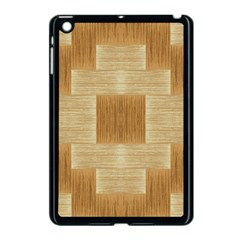 Texture Surface Beige Brown Tan Apple Ipad Mini Case (black)