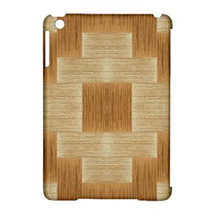 Texture Surface Beige Brown Tan Apple iPad Mini Hardshell Case (Compatible with Smart Cover)