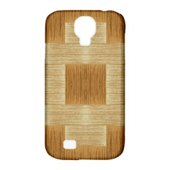 Texture Surface Beige Brown Tan Samsung Galaxy S4 Classic Hardshell Case (pc+silicone)