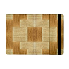 Texture Surface Beige Brown Tan Ipad Mini 2 Flip Cases