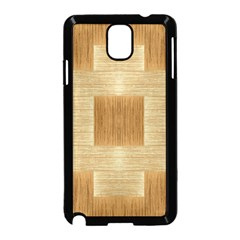Texture Surface Beige Brown Tan Samsung Galaxy Note 3 Neo Hardshell Case (black)