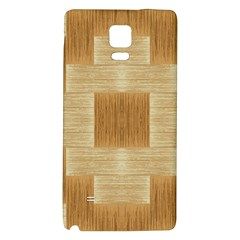 Texture Surface Beige Brown Tan Galaxy Note 4 Back Case
