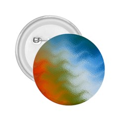 Texture Glass Colors Rainbow 2.25  Buttons
