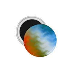 Texture Glass Colors Rainbow 1.75  Magnets
