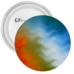Texture Glass Colors Rainbow 3  Buttons