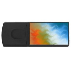 Texture Glass Colors Rainbow USB Flash Drive Rectangular (1 GB)