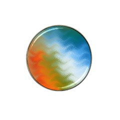 Texture Glass Colors Rainbow Hat Clip Ball Marker (4 pack)