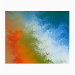 Texture Glass Colors Rainbow Small Glasses Cloth