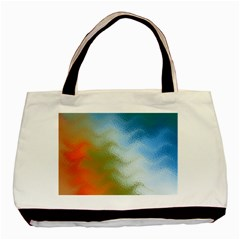 Texture Glass Colors Rainbow Basic Tote Bag