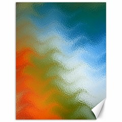 Texture Glass Colors Rainbow Canvas 12  x 16