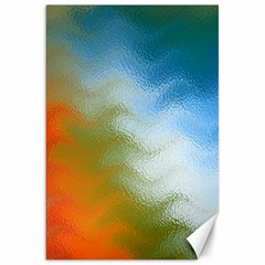 Texture Glass Colors Rainbow Canvas 20  x 30