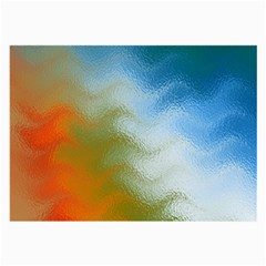 Texture Glass Colors Rainbow Large Glasses Cloth (2 Side)