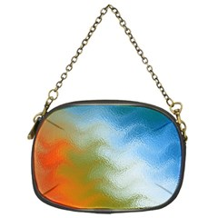 Texture Glass Colors Rainbow Chain Purses (one Side)