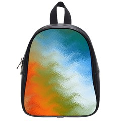 Texture Glass Colors Rainbow School Bags (Small)