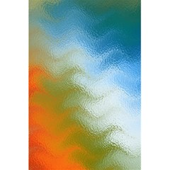 Texture Glass Colors Rainbow 5 5  X 8 5  Notebooks