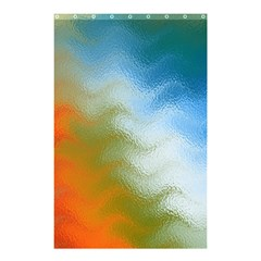Texture Glass Colors Rainbow Shower Curtain 48  x 72  (Small)