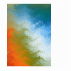 Texture Glass Colors Rainbow Large Garden Flag (two Sides)