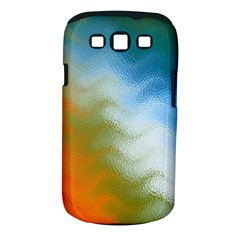 Texture Glass Colors Rainbow Samsung Galaxy S Iii Classic Hardshell Case (pc+silicone)