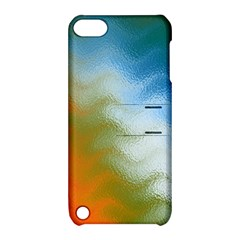 Texture Glass Colors Rainbow Apple iPod Touch 5 Hardshell Case with Stand
