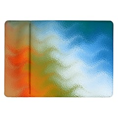 Texture Glass Colors Rainbow Samsung Galaxy Tab 10.1  P7500 Flip Case