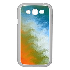Texture Glass Colors Rainbow Samsung Galaxy Grand Duos I9082 Case (white)