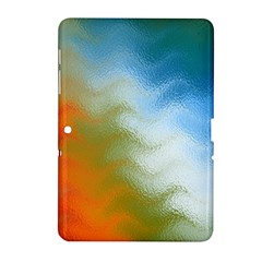Texture Glass Colors Rainbow Samsung Galaxy Tab 2 (10 1 ) P5100 Hardshell Case
