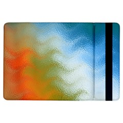Texture Glass Colors Rainbow Ipad Air Flip