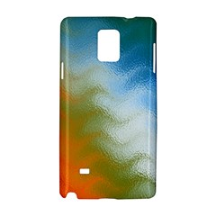 Texture Glass Colors Rainbow Samsung Galaxy Note 4 Hardshell Case