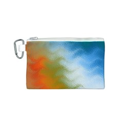 Texture Glass Colors Rainbow Canvas Cosmetic Bag (s)