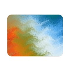 Texture Glass Colors Rainbow Double Sided Flano Blanket (mini)