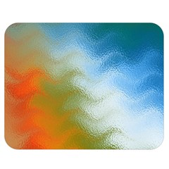 Texture Glass Colors Rainbow Double Sided Flano Blanket (medium)