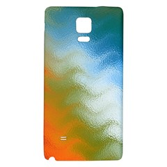 Texture Glass Colors Rainbow Galaxy Note 4 Back Case