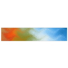 Texture Glass Colors Rainbow Flano Scarf (small)